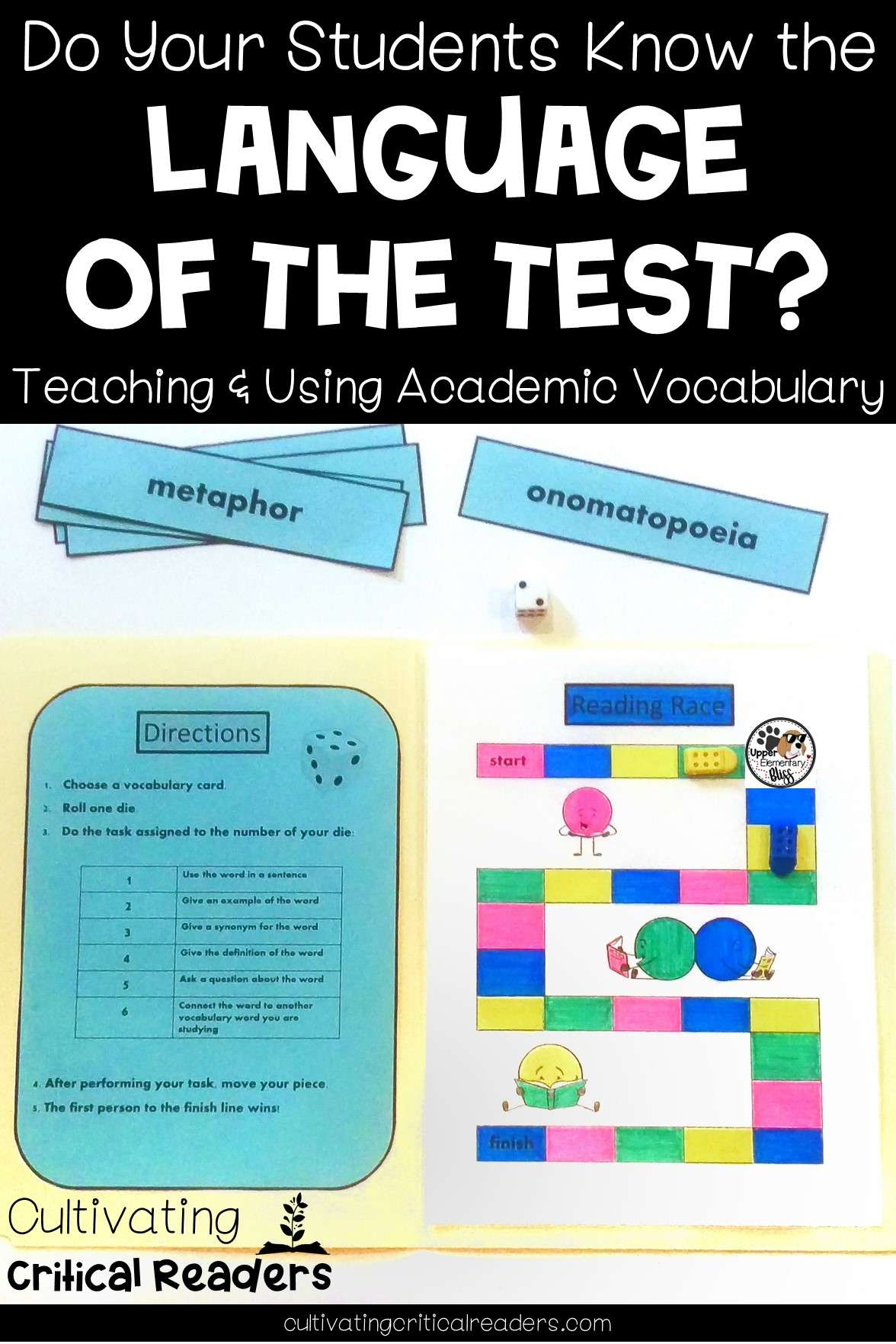 Do Your Students Know the Language of the Test