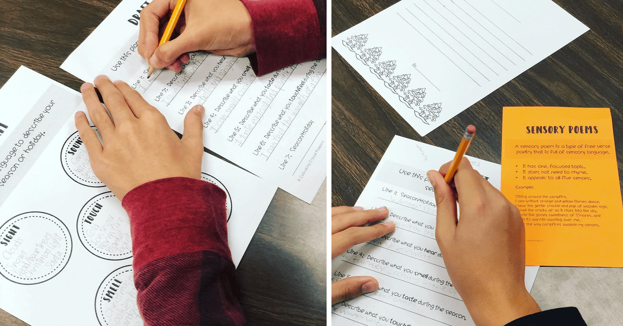 Writing Sensory Poems by Cultivating Critical Readers