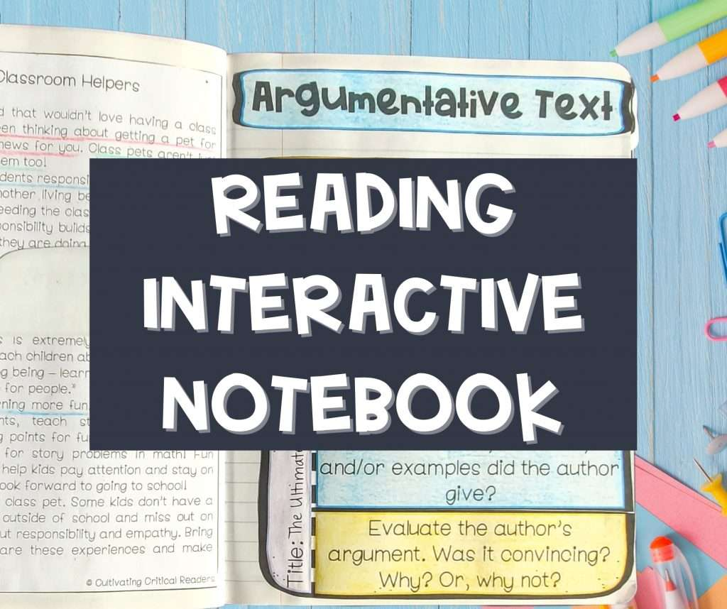 reading-interactive-notebook-third-grade