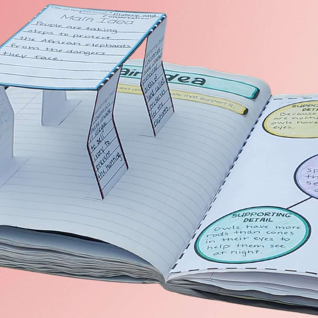 third-grade-reading-interactive-notebook